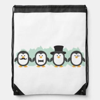Posh Penguins Rucksacks