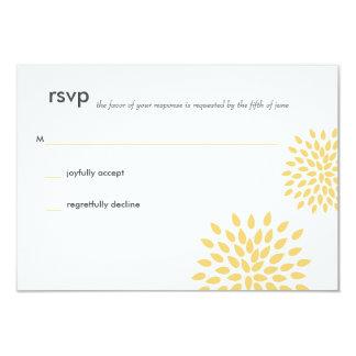 Posh Petals | Sunshine | RSVP Card