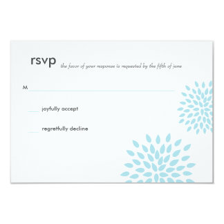 Posh Petals | Twilight | RSVP Card