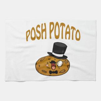 Posh Potato Tea Towel