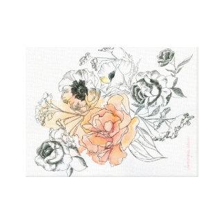 Posies Canvas Print