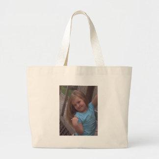 posing canvas bags
