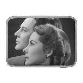 Posing Couple MacBook Sleeve