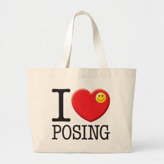Posing Love Tote Bag
