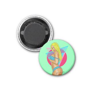 Posing 3 Cm Round Magnet