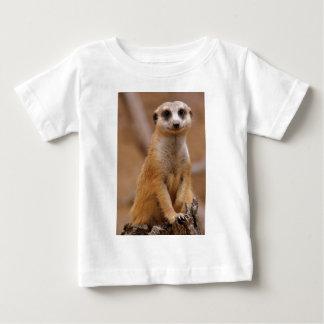 Posing Meerkat Baby T-Shirt