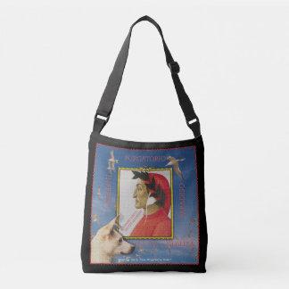 Posing with Dante Alighieri Crossbody Bag
