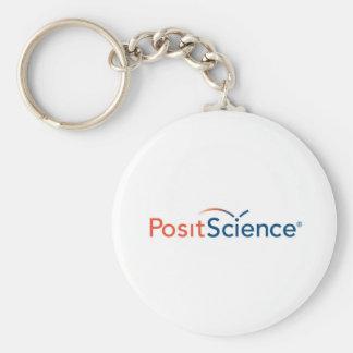 Posit Logo Keychain