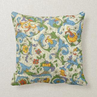 Positano Floral Throw Pillow