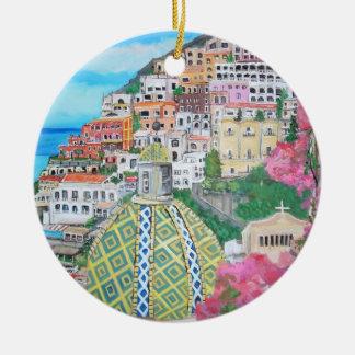 Positano, Italy Ornament