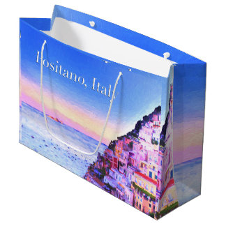 Positano, Italy Sunset Gift Bag