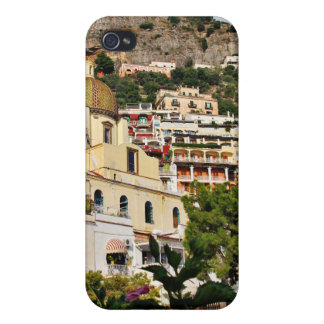 Positano,Italy - View from the Beach Covers For iPhone 4