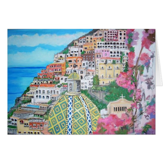 Positano Note Card