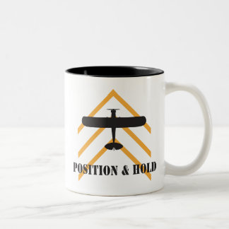 Position And Hold Airplane Coffee Mugs