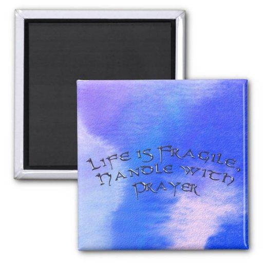 Positive Affirmation, Love & Prayer Magnet