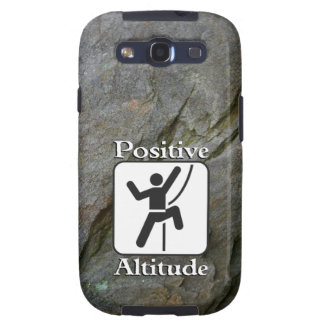 Positive Altitude - Climber Samsung Galaxy S3 Vibe Samsung Galaxy SIII Cover