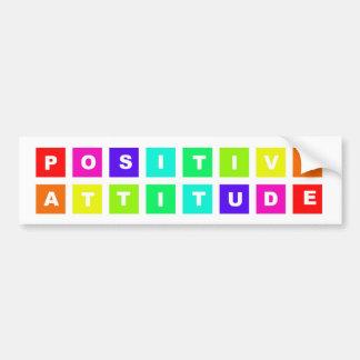 positive attitude bumper stickers