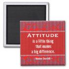 Positive Attitude-Churchill Quotation - Motivation Magnet