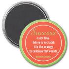 Positive Attitude-Churchill Quotation Motivational Magnet