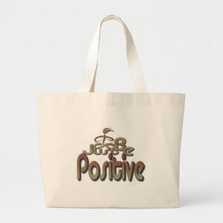 Positive Tote Bags