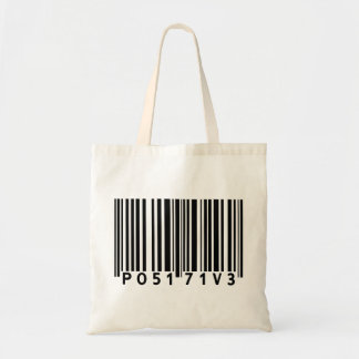 Positive Barcode Tote Bag