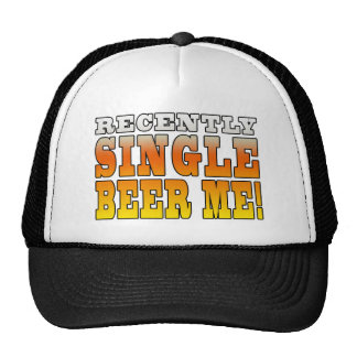 Positive Being Single Gift Ideas : Single Beer Me Mesh Hat