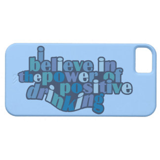 Positive Drinking custom color iPhone case