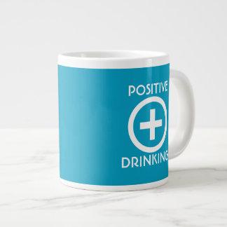 Positive Drinking Uplifting Large Coffee Mug