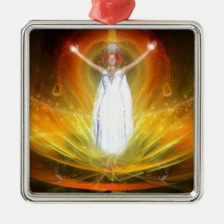 Positive Energy Goddess Christmas Ornament