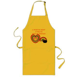 Positive Heart apron
