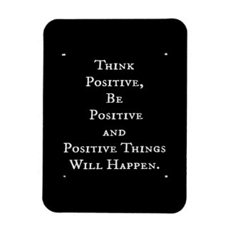 POSITIVE LIFE MOTIVATIONAL QUOTES THINK ACT MOTTO MAGNET
