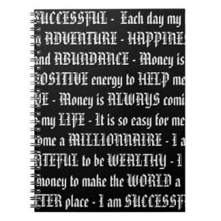 Positive Mindset Quotes NoteBook