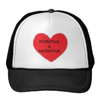 POSITIVE & NEGATIVE CAP