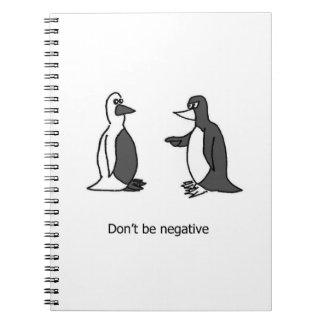 Positive Penguin Notebook