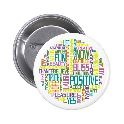 Positive Pin-Back Buttons