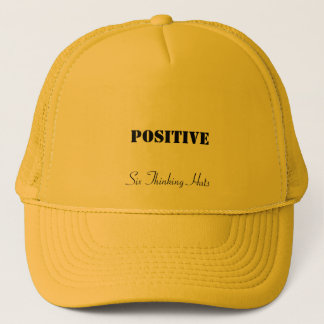 Positive, Six Thinking Hats