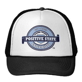 Positive State U, Baby blue Signature logo Hat