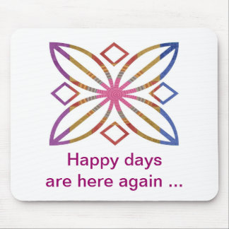 Positive Strokes - Display Happy Designs Mouse Pad
