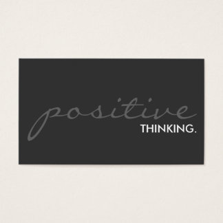 positive thinking. (color customizable)