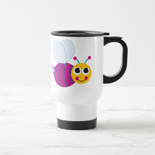 "Positive Thoughts Best Life ""Bee Happy"" Mug"