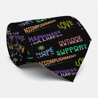 Positive Thoughts Tie