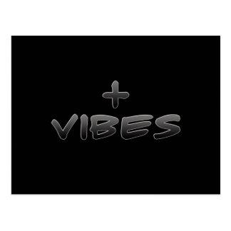 Positive Vibes Postcard