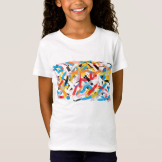 Positive Vibes Splah of color Funky T-shirt