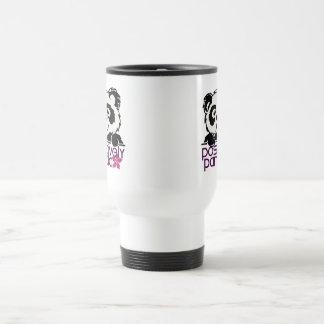 Positively Panda (Flower) Coffee Mug