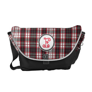 Positively Plaid Messenger Bag