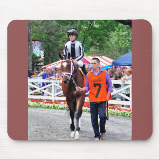 Positively Royal and Javier Castellano Mouse Pad
