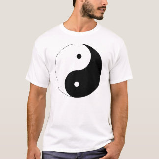 Positiven-n-Negative ying yang T-Shirt