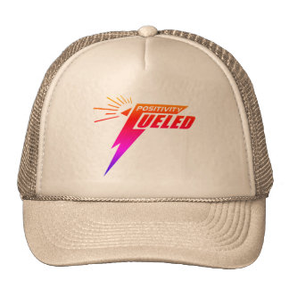 Positivity Fueled Hat to promote optimism