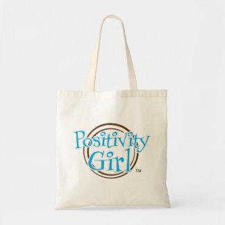 Positivity Girl™ Small Canvas Tote