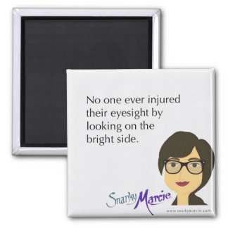 Positivity Humor Square Magnet